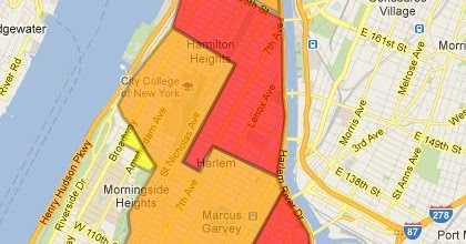 Manhattan Safety Map Housing Search: NYC Safety Maps   DC to NY: Life of a Young Lady Manhattan Safety Map