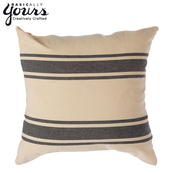 Easy DIY Hobby Lobby Stenciled Pillow Cover | Organized Clutter