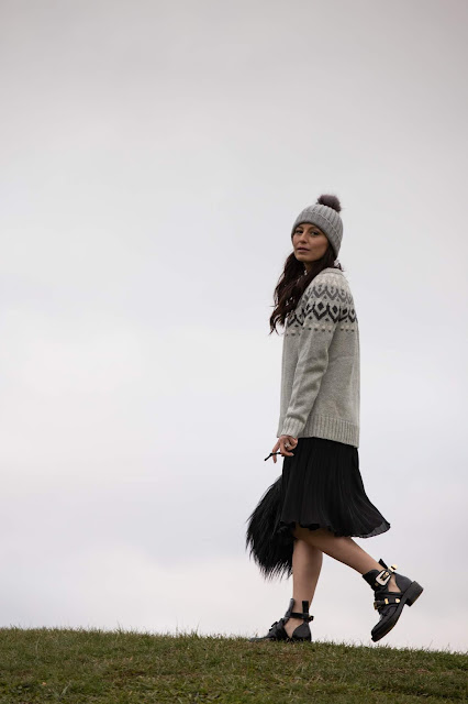 Meryl Franzos, fairisle sweater, IBD, promotility