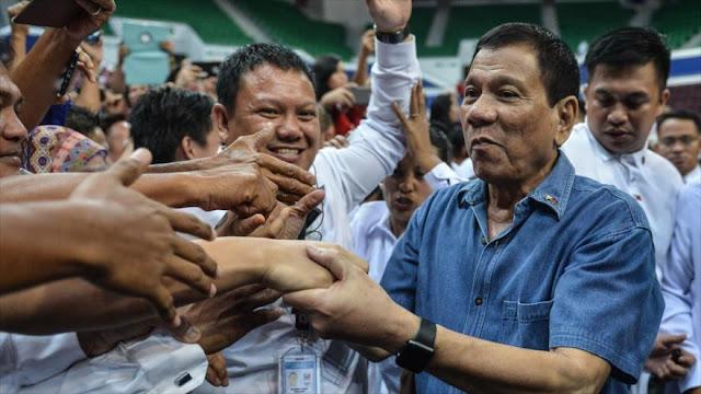 Filipinas tras romper con EEUU: Solo China nos puede ayudar