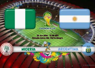 بث مباشر نيجيريا والارجنتين
