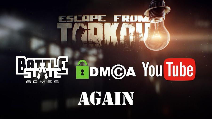 escape from tarkov dmca abuse el dee battlestate youtube