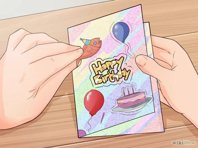 el yapımı doğum günü tebrik kartları