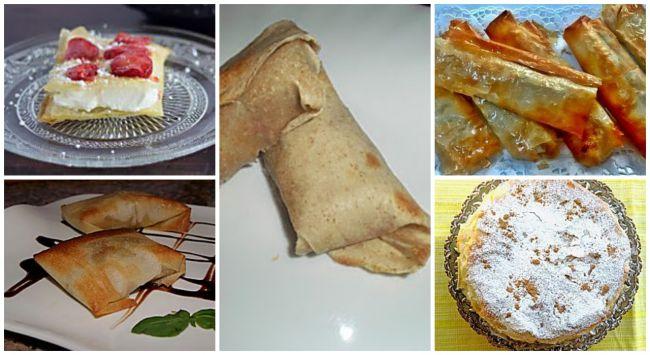 5 deliciosas recetas con pasta brick o filo