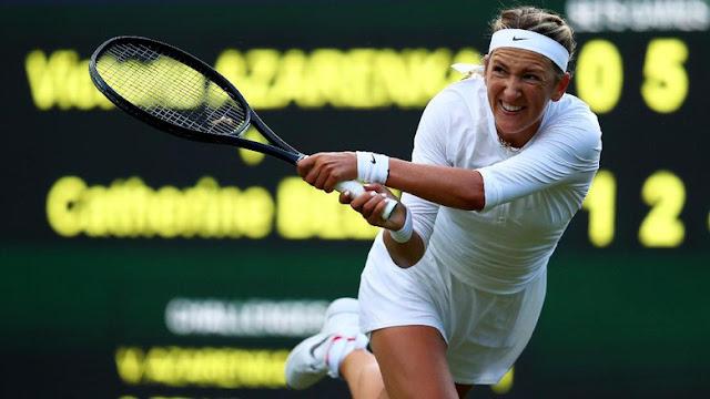 Kembali Tampil di Grand Slam Usai Melahirkan, Azarenka Menang
