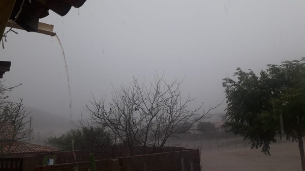 Lajes Pintadas: registro de chuva de até 96 mm na Zona Rural ontem (23)