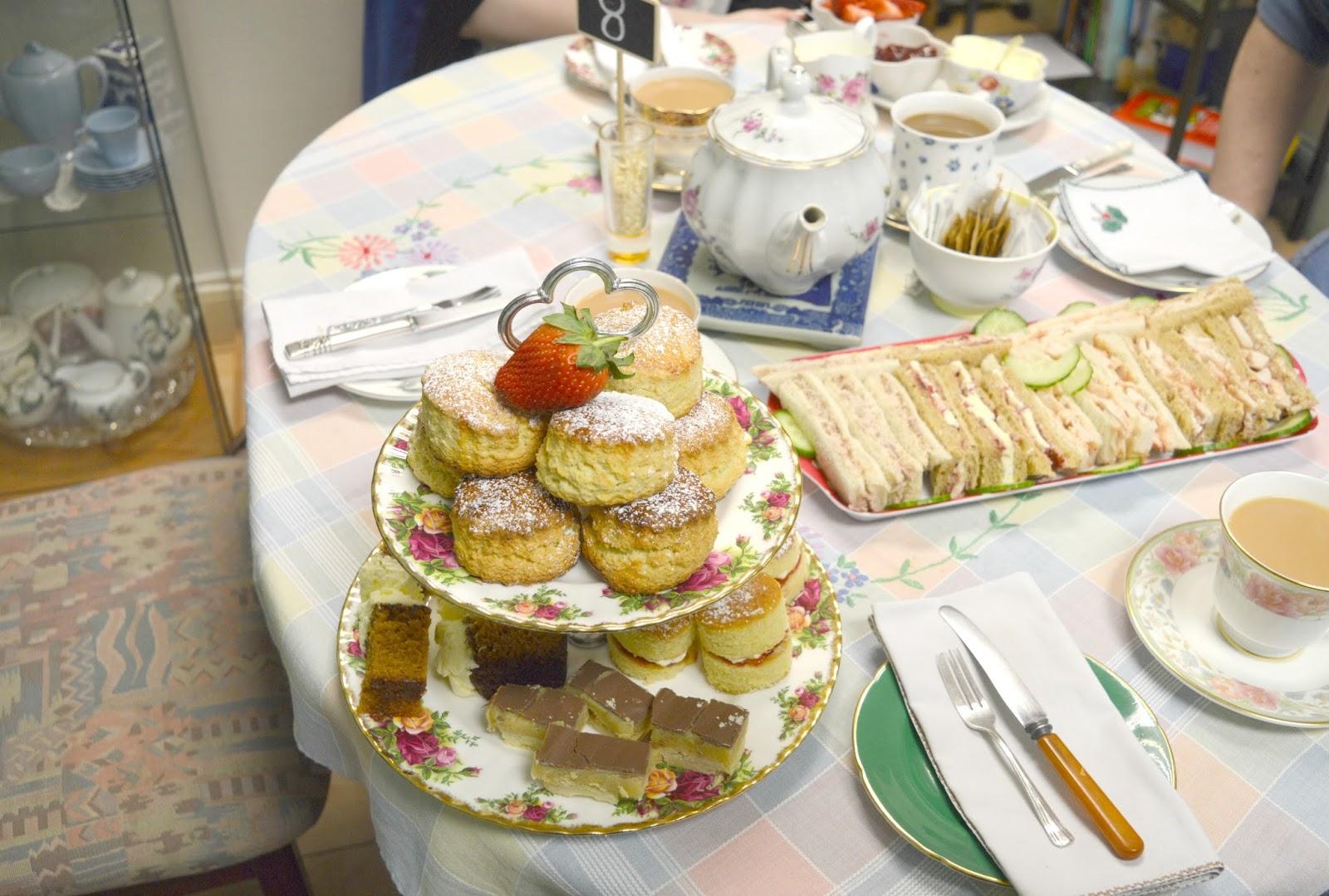 Afternoon Tea at VIP Teas
