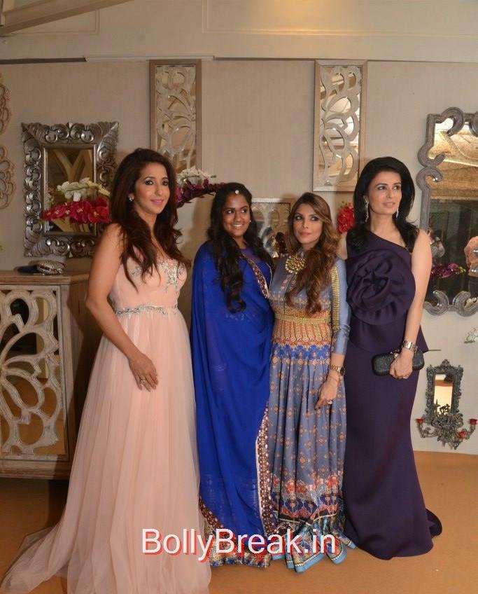 Krishika Lulla, Arpita Khan Sharma, Falguni Peacock, Divya Gurwara, Anchal, Evelyn, Arpita at Bridal Asia Show Media Preview