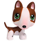 Littlest Pet Shop 3-pack Scenery Bull Terrier (#154) Pet