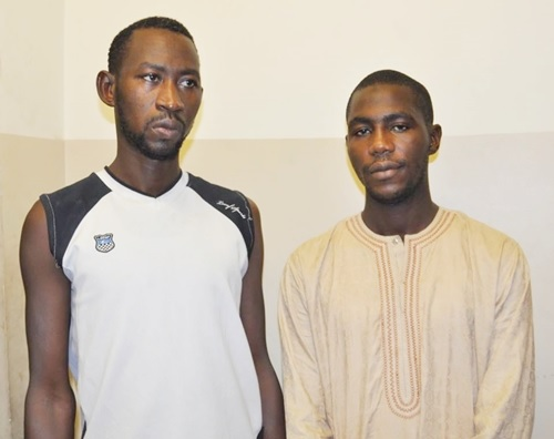 See the Face of Two Fake EFCC Officers Arrested by EFCC Operatives