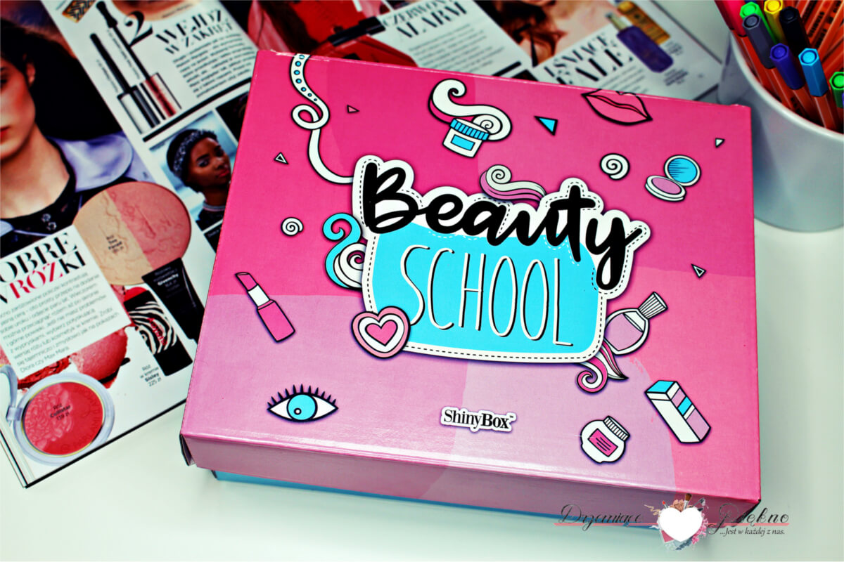 ShinyBox Wrzesień 2017 Beauty School