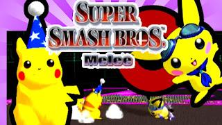 Pichu vs Pikachu Smash Bros Melee