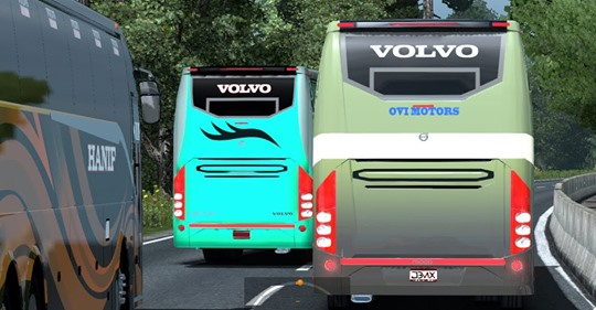 Volvo Traffic 9700 - ETS 2 INDIA