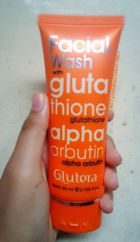 Review GLUTERA Facial Wash with Glutathione dan Alpha Arbutin