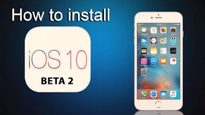 How to install iOS 10 public beta