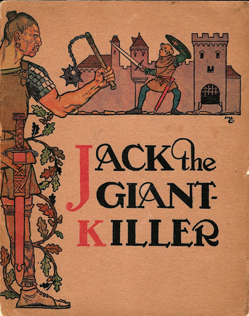 Jack the Giant Killer - Pictured by H.M. Brock