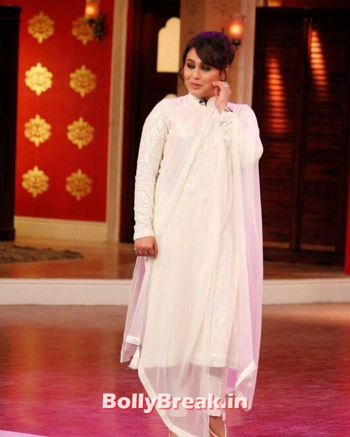 Rani Mukerji, Rani Mukherjee Promotes Mardaani on Comedy nights with Kapil