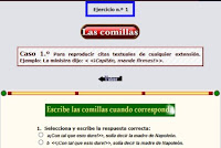 http://reglasdeortografia.com/comillas01.html