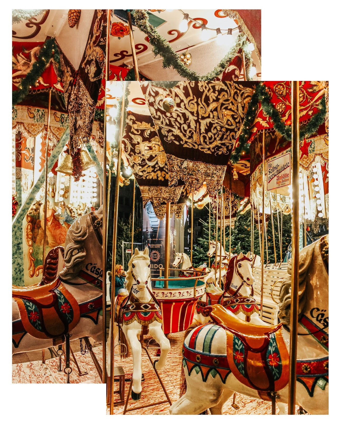 Germany Cologne Markt der Engels Christmas Carousel