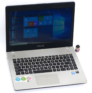 Laptop Gaming ASUS N46JV Core i7 Double VGA