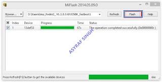 miflash tool - Flash a Dead Xiaomi Redmi 2.