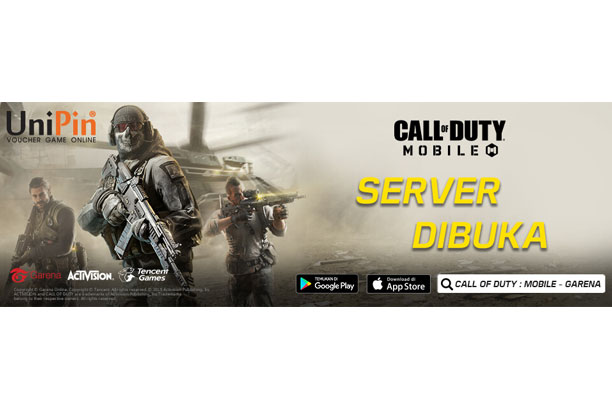 Top Up Garena Shells Call of Duty Mobile di Unipin