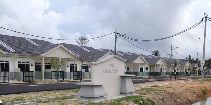 Permohonan Rumah Kos Rendah Amanjaya