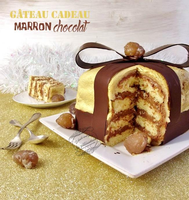 gateau anniversaire chocolat marron