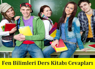 8. Sınıf Fen Bilimleri Anadol Yayınları Ders Kitabı Cevapları