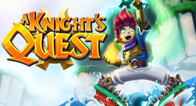 Usando de humor, ação e puzzles, Knight's Quest estará presente na GamesCom.