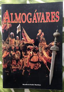 Portada del libro Almogávares, de Ricardo de Isabel Martínez