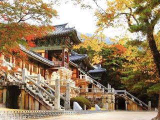 Templos budistas en Corea.