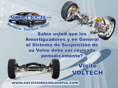 Mantenimiento Suspension Volvo Bogota