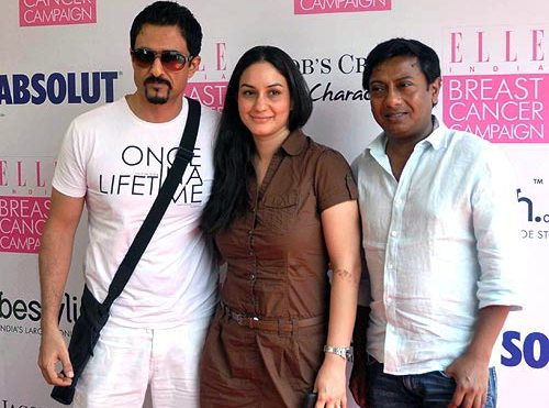 Ambika Suri with Sanjay Suri and Onir