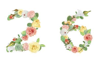 A floral number 26