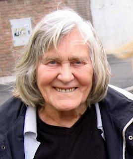 Photo of Margherita Hack in Rome in 2007