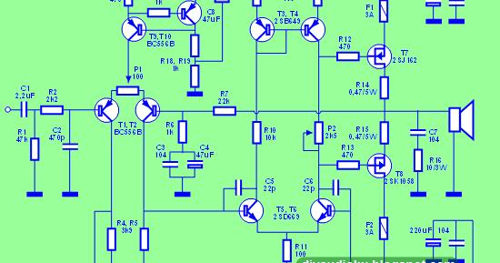 diy audio elektronika 100 watt mosfet power amplifier. Black Bedroom Furniture Sets. Home Design Ideas