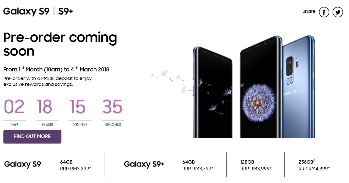 b87d60ba221c Preorder Samsung Galaxy S9   S9+ Get Harman Kardon Speaker worth RM699