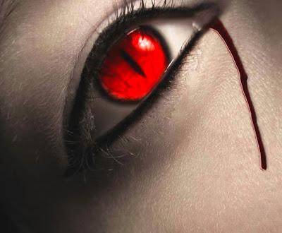 olho,bizarro,sangue