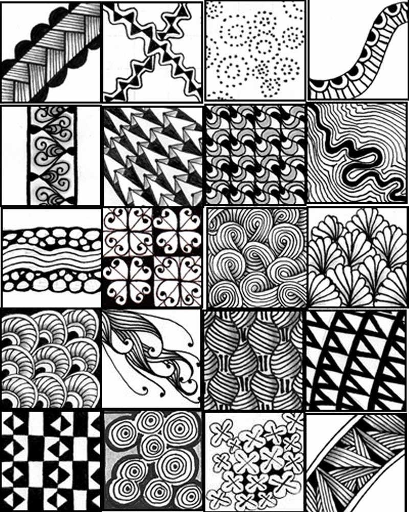 Tactueux image for zentangle printable