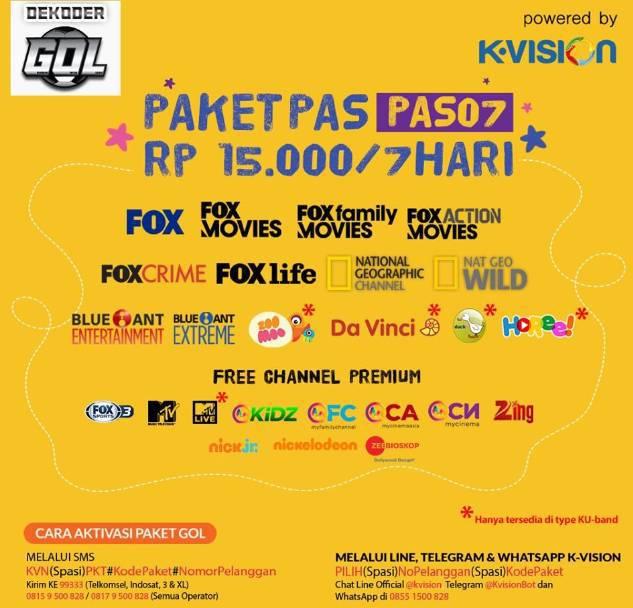 Paket PAS07 Gol Garmedia
