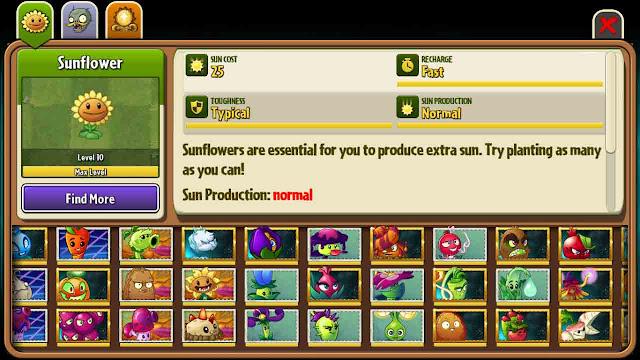 cheat plants vs zombie 2 android semua tanaman terbuka