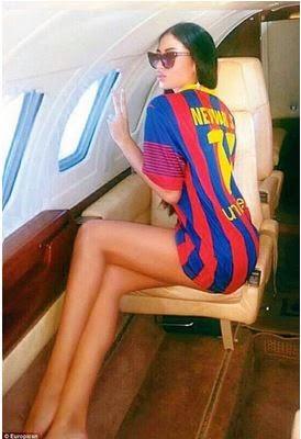 neymar-Ibiza-model