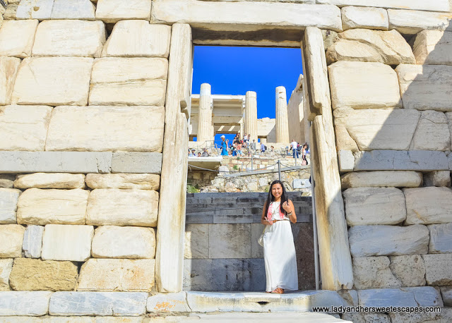 Propylaia: a monumental entrance to the Acropolis