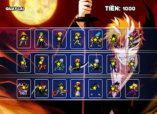 Đại chiến sao Anime là một game hành động flash hay và hấp dẫn đang thu hút  nhiều người chơi. Chơi game và tham gia vào những cuộc chiến của các sao  Anime ...