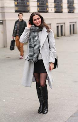 Botas negras de moda  de Invierno