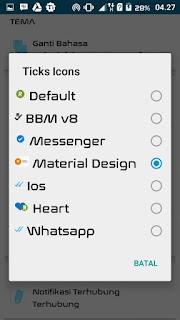 BBM2 Mod Originally Mix Max Versi 3.0.0.18 Terbaru