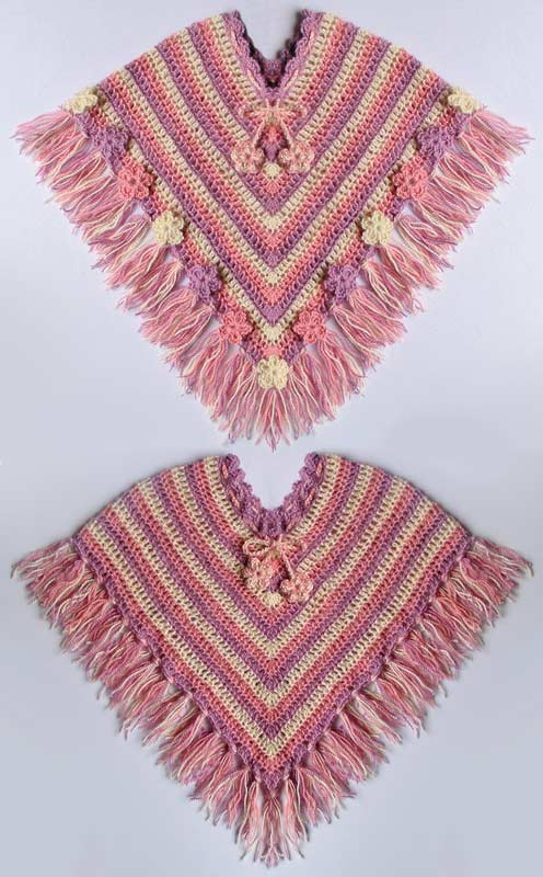 Free Knitting Pattern Children S Knitting Shawl Patterns