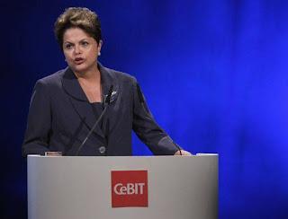 Dilma na CeBIT