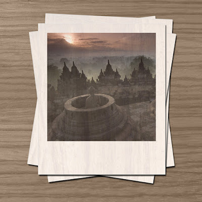 Kolase Foto Polaroid Dengan Photoshop